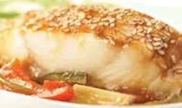 Sesame Halibut